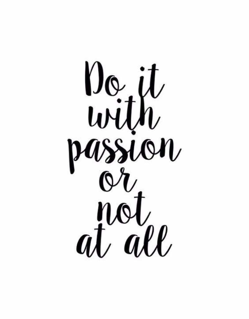 Quote about Passion